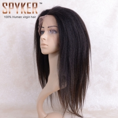 Yaki Full lace Wig 100% human virgin hair Hearts-A